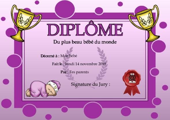 Connu diplome enterrement de vie de jeune fille rh53 montrealeast - Diplome du super papa a imprimer gratuit ...